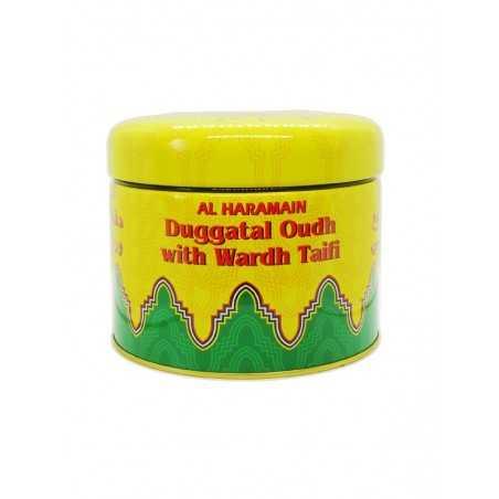 Duggatal Oudh With Wardh Taifi - Bokhoor Al Haramain
