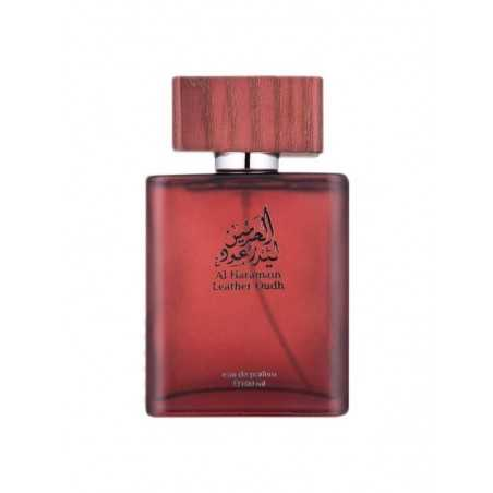 Leather Oudh Al Haramain perfume water