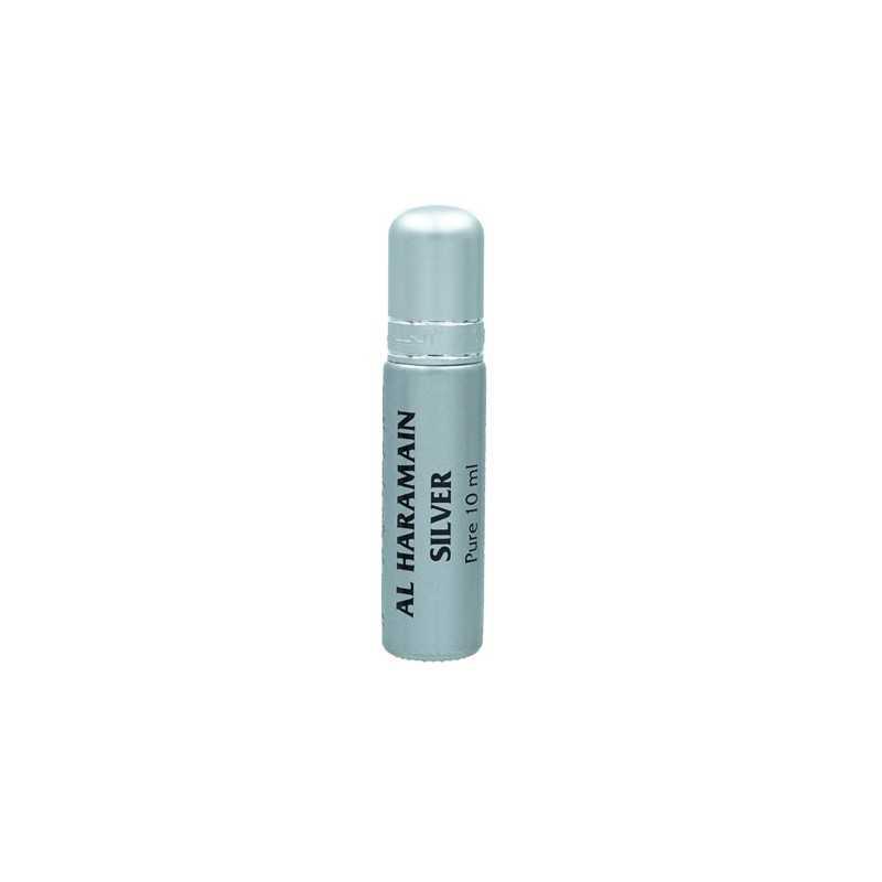 Al Haramain Silver musc huile de parfum mixte Huile de parfum