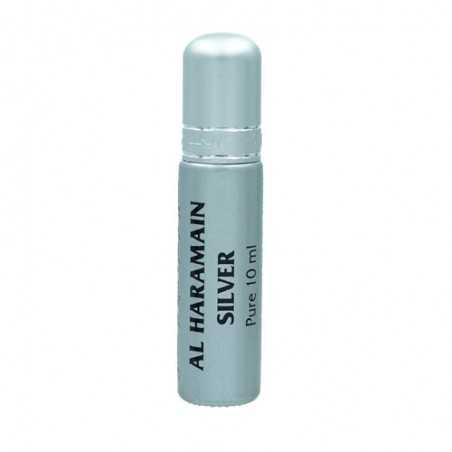 Al Haramain Silver musc huile de parfum mixte