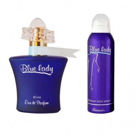 Blue Lady perfume and deodorant for women - RASASI