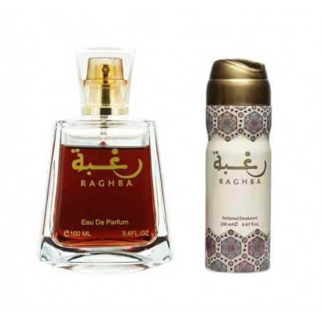 Raghba - lattafa mixed perfume water