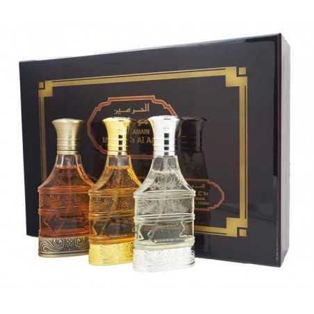 Majmuat Al Arab - Al Haramain 3 eaux de parfum mixte