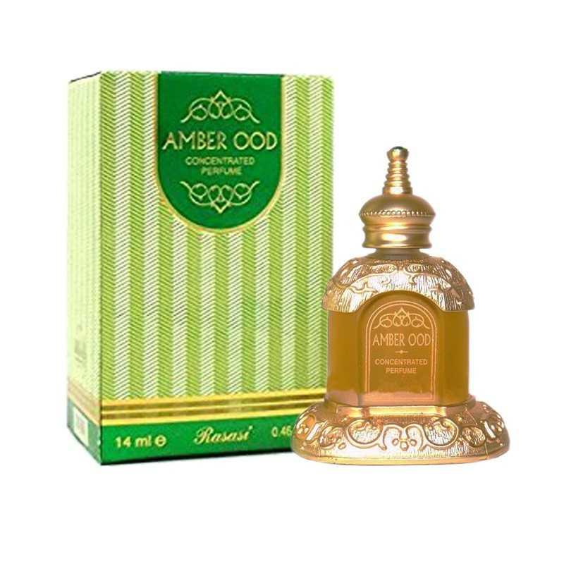 Amber oudh huile de parfum rasasi