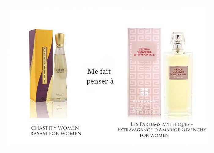 Chastity femme & extravagance d'amargie